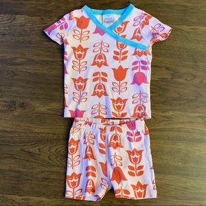 Hanna Andersson Flower Pajamas